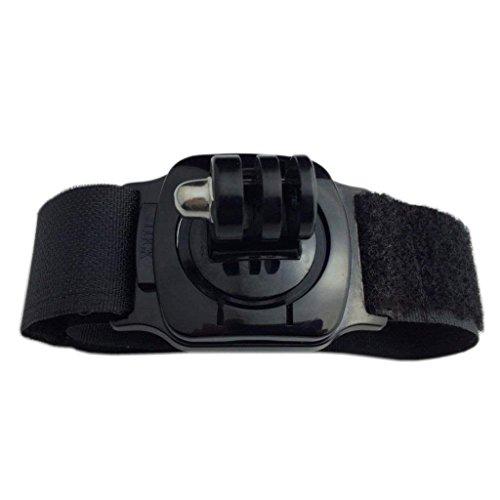 Rotazione di 360gradi cinturino da polso fascia del supporto per GoPro Hero 123