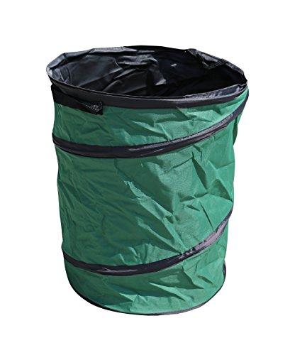 Jardinion Gartenabfallsack, Laubsack, Grünschnittbehälter, 100 Liter Grün -
