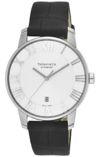 [ティファニー] 腕時計 Atlas Dome シルバー文字盤 自動巻 Z1810.68.10A21A50A 並行輸入品 ブラック
