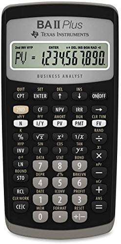 Texas Instruments -   BA II Plus