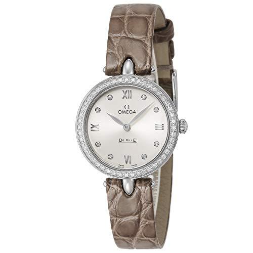 [オメガ] 腕時計 デ・ヴィル デュードロップ シルバー文字盤 424.18.27.60.52.001 レディース ブラウン [並行輸入品]