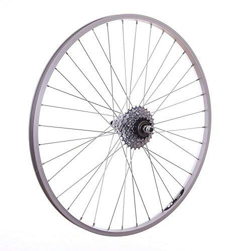 Baldwins 26' Alloy REAR Mountain Bike Wheel & 5 SPEED FREEWHEEL Bicycle MTB