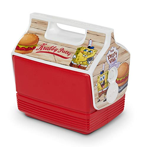 Igloo 4 Quart Limited Edition Spongebob Krabby Patty tragbare Lunchbox Playmate Mini Kühler Eisbox klein (48860)