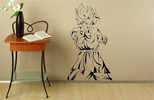 wandaufkleber baum kinderzimmer Son Goku Wandtattoo Manga Anime Vinyl Aufkleber Japanischen Home Interior Schlafzimmer Dekor Kunst Wandbild Tür Aufkleber Haushaltswaren