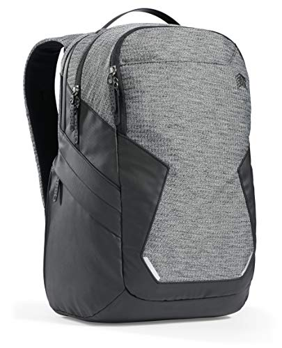 STM Myth Backpack Featuring Luggage Pass-Through 28L / 15' Laptop - Granite Black (stm-117-187P-01)