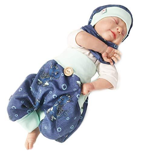 Atelier MiaMia 56 62 74 mini H/äschen 86 Pumphose Set Baby Kind von 50 Designer Babyhose Set Limitiert !! 68 92 80