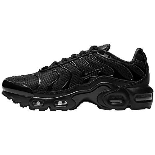 Nike Air Max Plus (gs) Big Kids Cd0609-001 Size 7 Black/Black/Black