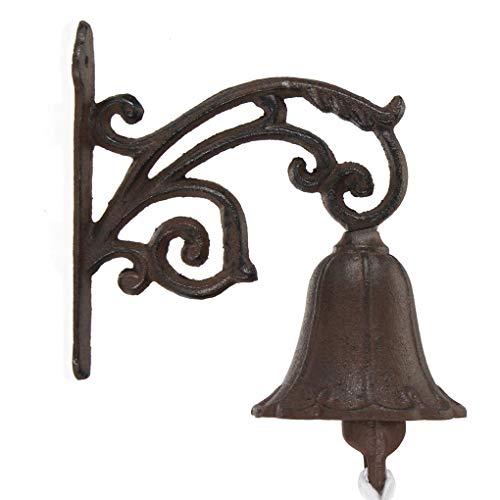 Yongse gietijzeren boot Verdigris deurbel Vintage tuin rustieke muur decoratieve deurbel