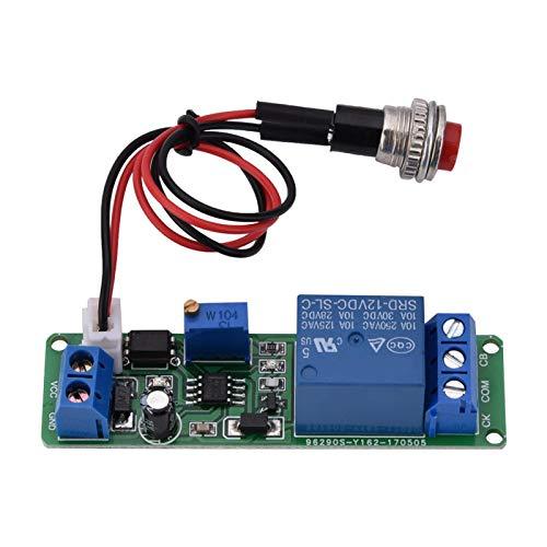 Interruptor de retardo de disparador externo Módulo de interruptor de temporizador de apagado de retardo para robots