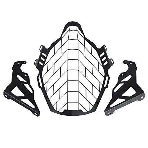 DomilayAccesorios de La Motocicleta ModificacióN Faro Rejilla Protector Cubierta Protector para Suzuki...