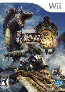 Wii monster hunter 3 tri (eu)