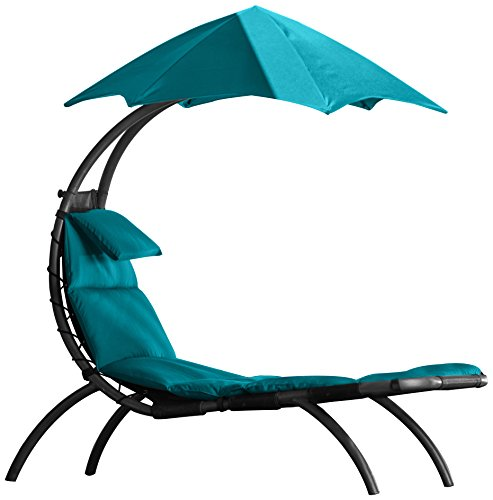 Vivere De originele droomlounger polyester. turquoise