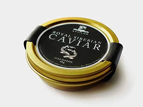 Attilus Caviar Royal Siberian Caviar (125g)