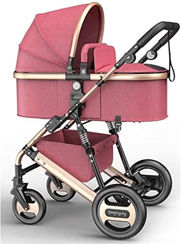 Cochecito liviano plegable del carruaje para niños pequeños, soporte de taza de cochecito de cochecito de bebé compacto, cochecito de luz ligero (Color : E)