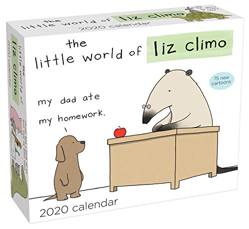 The Little World of Liz Climo 2020 Day-to-Day Calendar