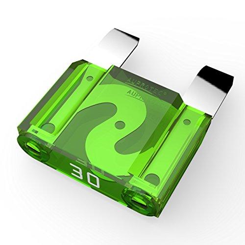 25 pi/èces 15A amp/ère turquoise AUPROTEC Fusibles /à lames Standard ATO 1A 40A fusible enfichable dautomobile choix