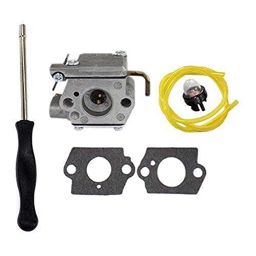 Gmasuber Carburador con kit de herramientas de ajuste destornillador para Ryobi 120R 410r 600r 700r 704r 705r 720r 725r 750r 765r 766r 767r 775r 790r Trimmer