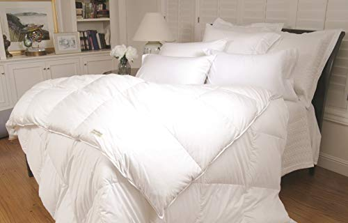 Warm Things Supremium Baffle Box Medium Weight Hungarian Goose Down Comforter (Level 3) White/Oversized King