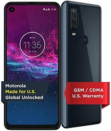 Motorola One Action Unlocked Made for US by Motorola 4 128GB 16MP Camera Denim product image