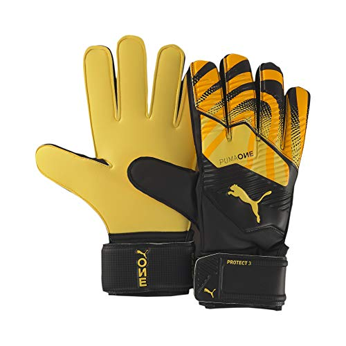 Puma One Protect 3 RC, Guanti Portiere Unisex-Adult, Ultra Yellow Black White, 10.5