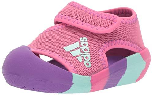 Toddler Kids Water Shoes Lightweight Non-Slip Aqua Socks Shoes for Beach Walking for Boys Girls Toddler(smallUnicorn/Pink,22/23)