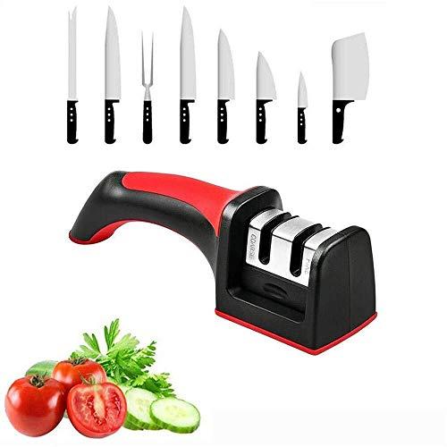 Whetstone Knife CS-MD Professional messenslijper vierkante kop Twee-Slot Household Sharpener Multifunctionele Edge Sharpener Gift Keuken Tool-H 2,48 Inch (Color : AS PHOTO, Size : ONE SIZE)