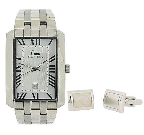 Limit 5459G.45 Montre pour Homme avec Bracelet en métal argenté