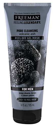 PH Beauty-Freeman Freeman Mens Pore Cleansing Gel Masque Peel Off 6 oz (175 ml) (2 Pack)