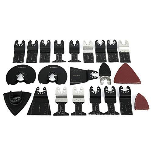 sierra oscilante sierra para raspar hojas de herramientas múltiples baldosas de plástico negro universales para corte de herramientas múltiples oscilantes pisos laminados máquina de