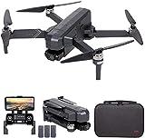 Drone GPS SJRC F11 4K PRO, Drone FPV WiFi 5G con videocamera HD 4K, Gimbal a 2 assi e motore Brushless, Quadricottero RC pieghevole (3 Batteria)