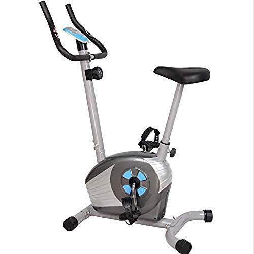 Bicicleta estática estática de resistencia ajustable Magnetron giratorio con pantalla LED para uso doméstico y gimnasio, entrenamiento cardiovascular