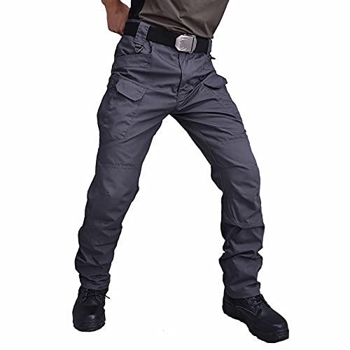 NUSGEAR 2021 Pantalones para Hombre Casual Moda trabajo pantalones Deportes al aire libre Pants Jogging Cómodo Pantalon Fitness Chandal Hombre Largos Pantalones Ropa de hombre Pantalones de Trekking