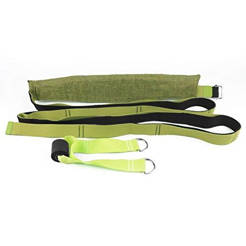 Sawpy 2020 Cuerda de Yoga aérea de Moda Yoga elástico de Cadera Abierta con Cuerda Invertida Tirar cinturón elástico divisiones Entrenador de Cintura Inferior