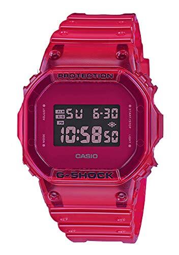 Reloj Casio G-Shock Special Colors DW-5600SB-4ER - Resina Color Rojo