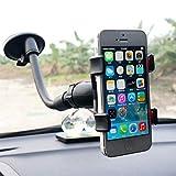 xmwm Windschutzscheibe Auto Telefon Ständer Unterstützung Universal Saugnapf Stent Mount Fensterhalter Smartphone-Handy Handyhalter