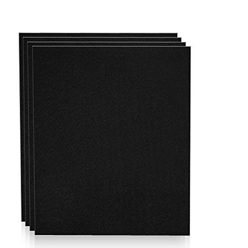 Altec Filters 4 Activated Carbon Pre-Filters Compatible with HPA200 Air Purifier, Premium Quality Replacement PreFilters HW HPA204 HPA250B Filter A (4 Pack)