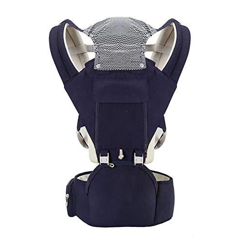 TYUXINSD Sucinto Portador de bebé Carrera de Asiento de Asiento de Cadera Infantil para recién Nacidos Mochila portabebés Bebé Actividad de Viaje Equipo, C