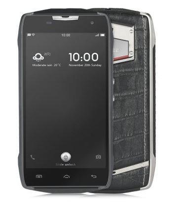 Doogee T5 Lite 4G Smartphone - telefono Businessport IP67 con doppia stile, 8MP 2 GB di RAM 16 GB antipolvere impermeabile struttura del coccodrillo batteria 4500mA carica veloce