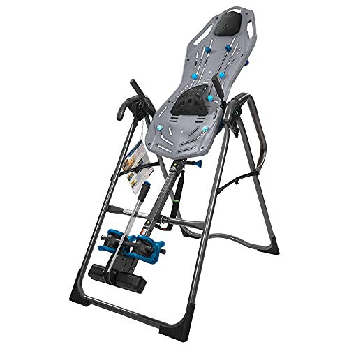 Teeter FitSpine X3B Inversion Table, 2019 Model, Deluxe Easy-to-Reach Ankle Lock, Back Pain Relief Kit, FDA-Registered (Blemished)