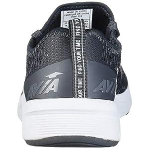 Avia Men's Avi-Cross Sneaker, Asphalt/New Titanium/Nimbus Cloud, 12 4E US