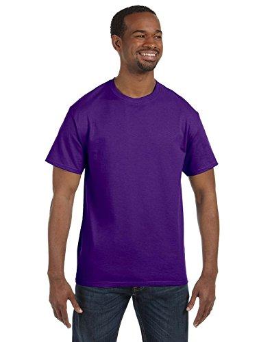 Gildan Men's Heavy Cotton T-Shirt - 5000 - Purple - 2X-Large