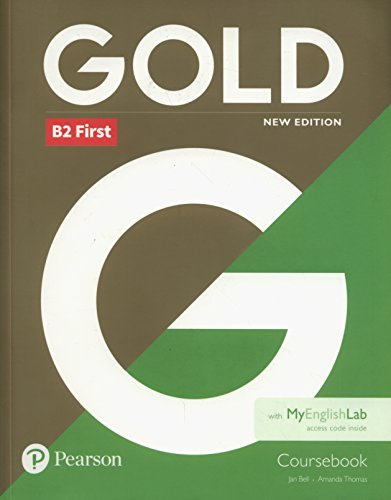 Gold First New Edition Coursebook and MyEnglishLab pack