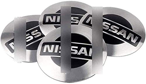 Tapas De Centro De Rueda, Tapas De Cubo Para Ni-Ssan Qas-Hqa Tiida Teana Skyline, Insignia Con Logotipo, Molduras De Rueda, Piezas De AutomóVil (Juego De 4)