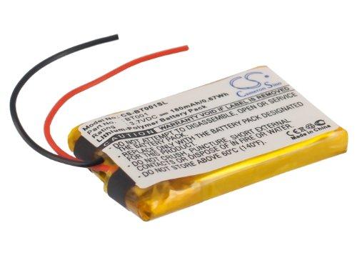 180mAh Battery for GlobalSat 001, BT-001, BT-001 Bluetooth GPS