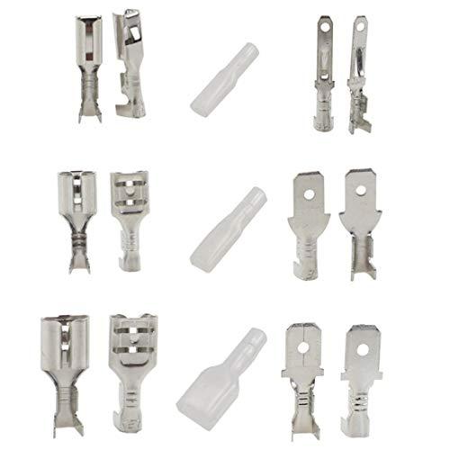 DAFROH - Juego de terminales de cable (270 piezas) Conector eléctrico con...