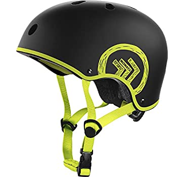 MONATA Skateboard Bike Helmet Skate Scooter Helmet for Youth Adults Teens Multisport Roller Skating Skateboarding Cycling Scooter Longboarding Rollerblading