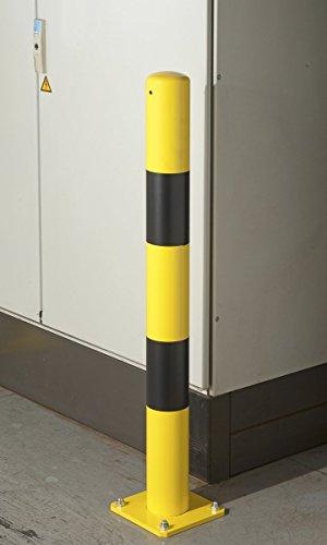 Mottez Poteau de Protection de Mur Hauteur 90cm B351SD89H90