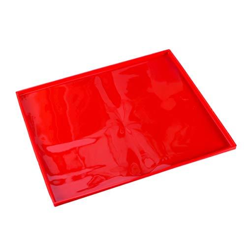 BESTonZON Silikon Backblech Rollmatte Swiss Roll Backmatte (Zufällig Farbe)
