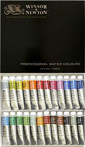 Windsor & Newton artist WaterColor 5ml 24 color set