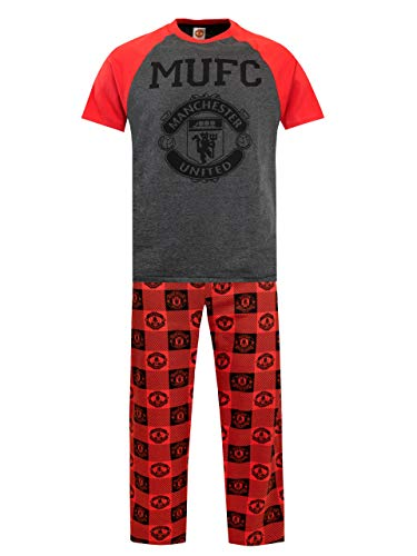 Manchester United Herren Manchester United FC Schlafanzüge Large